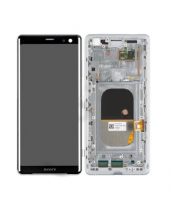 Sony Xperia XZ3 Display LCD  Complete silver white