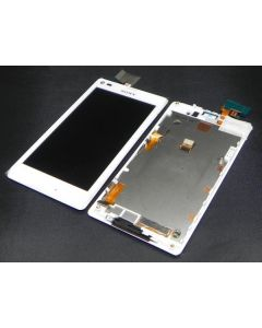 Sony Xperia M LCD Display White