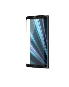 Tempered Glass Full Screen Protector For Sony Xperia XZ3 Black (packing)