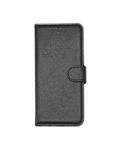 Flip Stand Leather Wallet Case For OnePlus 7 Pro Black