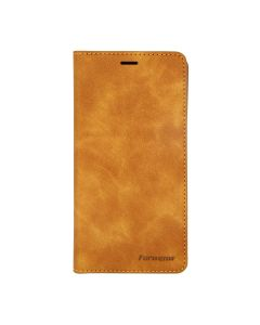 Flip Stand Magnetische Leather Case For iPhone 11 Brown