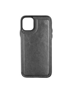 Fitted Leather Case For iPhone 11 Black