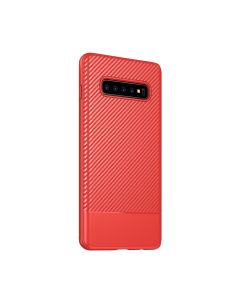 Fitted Case For Samsung S10 Plus Red