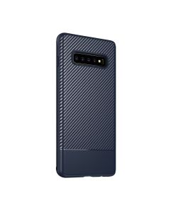 Fitted Case For Samsung S10 Blue