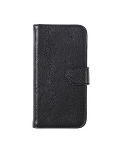 G-SP Leather Wallet For Samsung A3 2017 Genuine leather Black