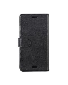 G-SP Leather Wallet For Sony Xperia XZ / XZS Genuine leather Black