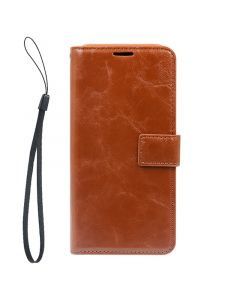 Detachable Leather Case For Samsung S8 Plus Brown