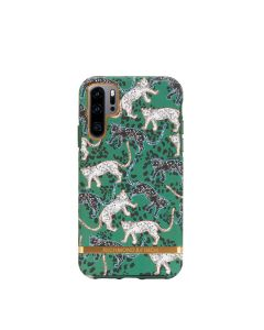 Richmond & Finch Huawei P30 Pro Green Leopard - Gold details