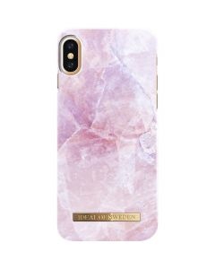 iDeal of Sweden Case iPhone X/XS - Pilion Pink Marble