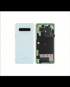 Original Samsung Galaxy S10 Plus Back Cover Prism White