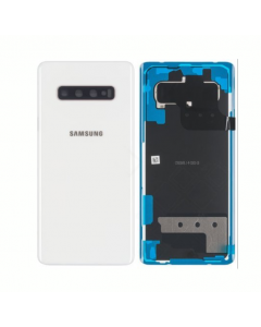 Original Samsung Galaxy S10 Plus Back Cover Ceramic White