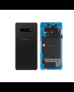 Original Samsung Galaxy S10 Plus Back Cover Prism Black