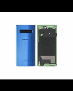 Original Samsung Galaxy S10 Plus Back Cover Blue