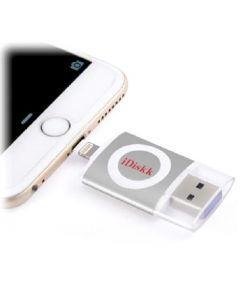 iDiskk Silver 32GB MFi-cert