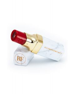Richmond&Finch WHITE MARBLE - LIPSTICK POWERBANK