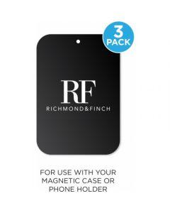 Richmond & Finch Metal Plate 3-pack Black