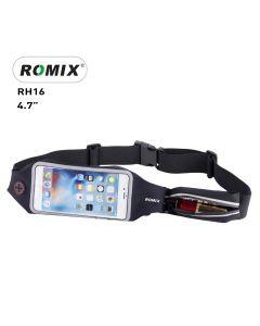 """Romix Running Waist Band 4,7"""" RH16 Black"""