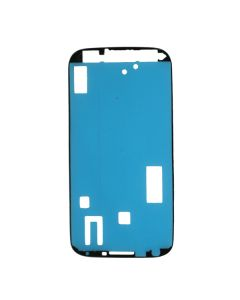 Samsung GT-i9505 Galaxy S4 Front Frame With Adhesive Blue