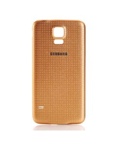 Samsung Galaxy SM-G900 S5 Battery Cover Gold