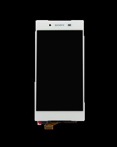 Sony Xperia Z5 LCD Display Original White No Frame