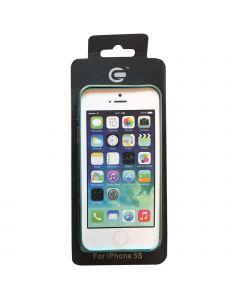 iPhone 5G/5S Frame Blue W. Gold QQT
