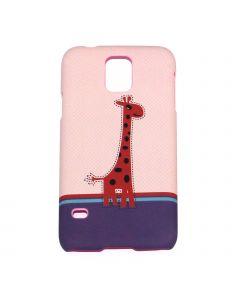 Luxo Case Animal For Samsung S5 Giraff Red